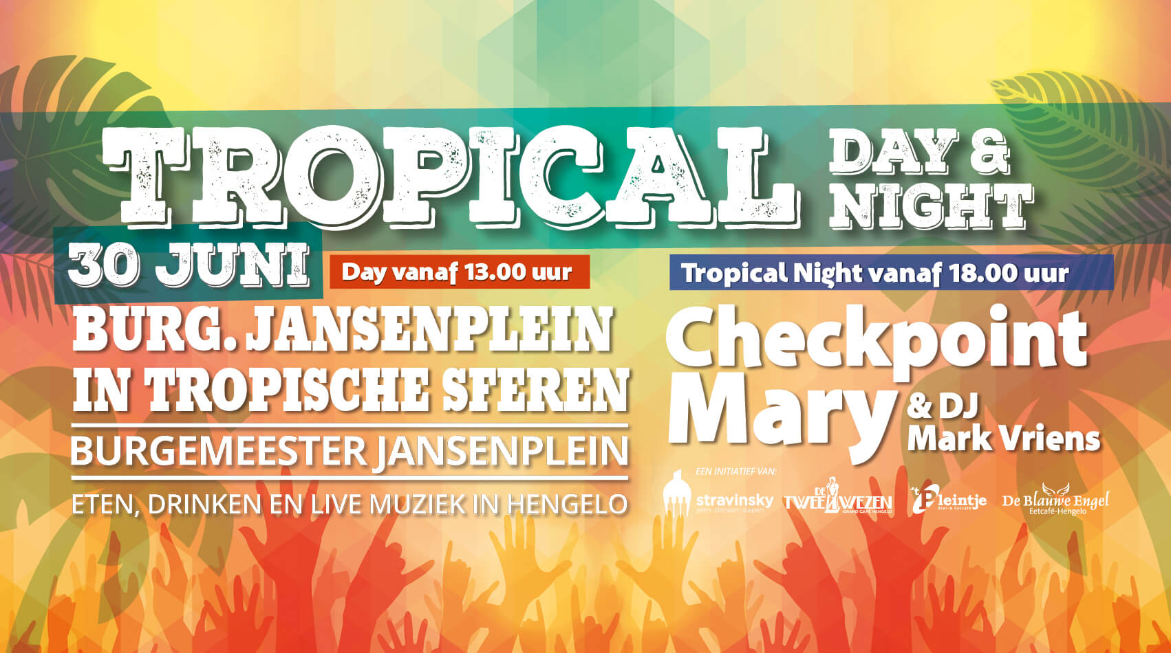 30 juni: Tropical Night